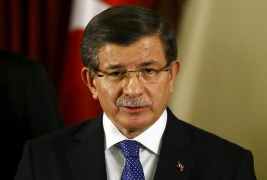 Hardball:  Visa-free travel by end of June, or March deal is void. Turkish Prime Minister Ahmet Davutoglu addresses the media in Ankara, Turkey February 20, 2016. REUTERS/Umit Bektas