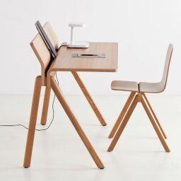 10 beste idee n over kantoortafel op pinterest ontwerp bureau ontwerp tafel en kabel management - Tafel salle a manger ontwerp ...