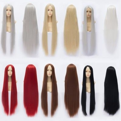One Piece Boa Hancock Cosplay Wig In Centre Parting Style