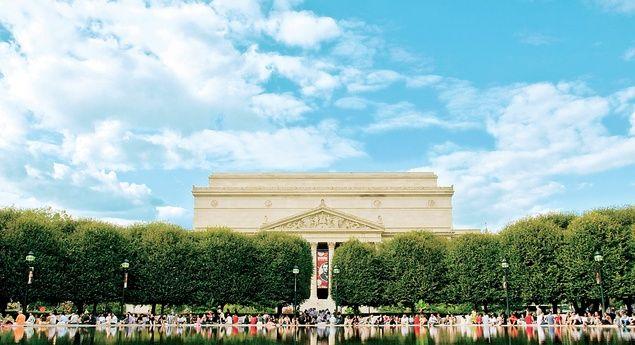 The National Gallery of Art's Sculpture Garden fountain (From: 20 Best-Kept Secrets of Washington, D.C.)