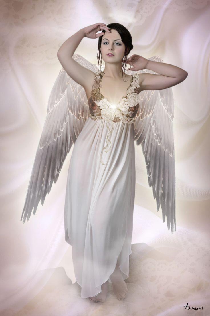 Arte feita no Photoshop - Anjo da Consciência