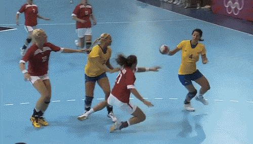 Handball Death From Above (Or Definitive Proof That Handball Is Awesome) | The 33 Best GIFs Of The London Olympics