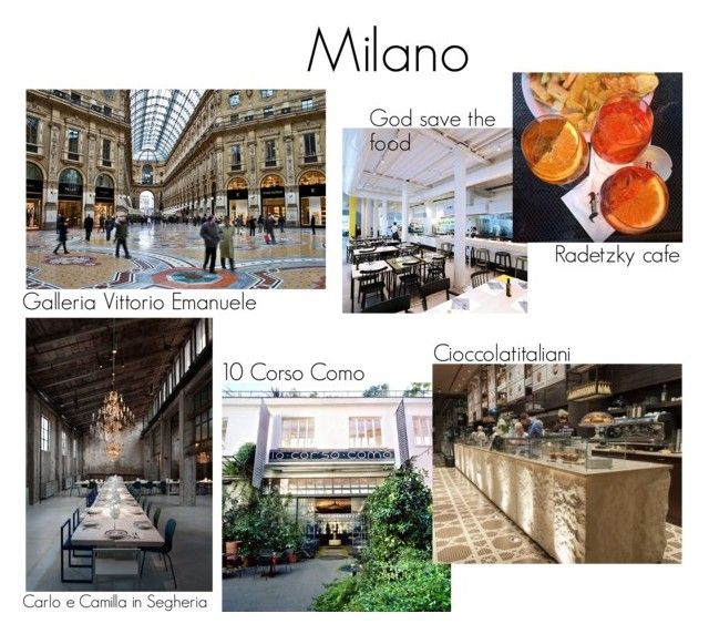 """Milano Guide"" by fiejust on Polyvore"