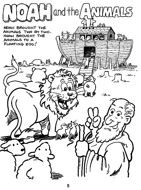 191 best bible ot: noah's ark images on pinterest | bible crafts ... - Noahs Ark Coloring Pages Print