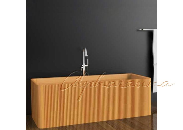 Forme a cedro rojo la bañera de madera elegante para interior/residencial, los accesorios de la sauna
