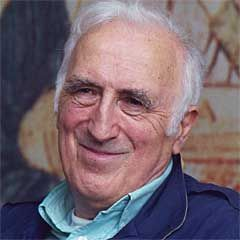 Jean Vanier, founder of L'Arche. I love his simple, quiet, confident connection to God. A picture of true communion.