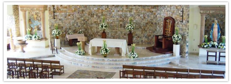 Iglesia Maria Reina de la Paz - Marina Vallarta, Puerto Vallarta, Jalisco, Mexico... we have set the date here!