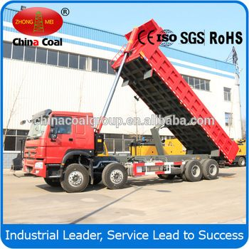 chinacoal03 China 8*4 380hp Heavy Duty Dump Truck 25ton Tipper Lorry Truck for sale We supply various dump trucks/tipper truck, tractor trucks, semi-trailers, cargo trucks. All the engines, cabs, axles, gearboxes, frames and other key components are substantially developed and made by SINOTRUCK to ensure the best quality and the matching among main assemblies. HOWO series trucks use original ZF8098 steering system , to continue the leading position at home and abroad.