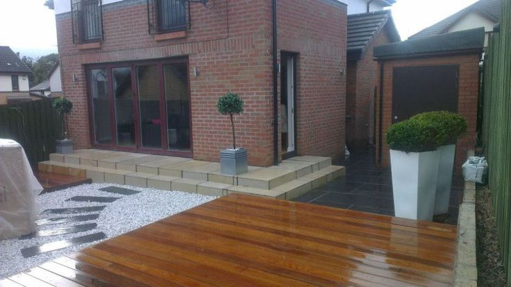Featured. Brown Wooden Decks for Indoor and Outdoor Design: Awesome Outdoor Brown Wooden Deck Ideas With Wood Colour Is Shiny And Perfect For Your Outdoor Design ~ wegli