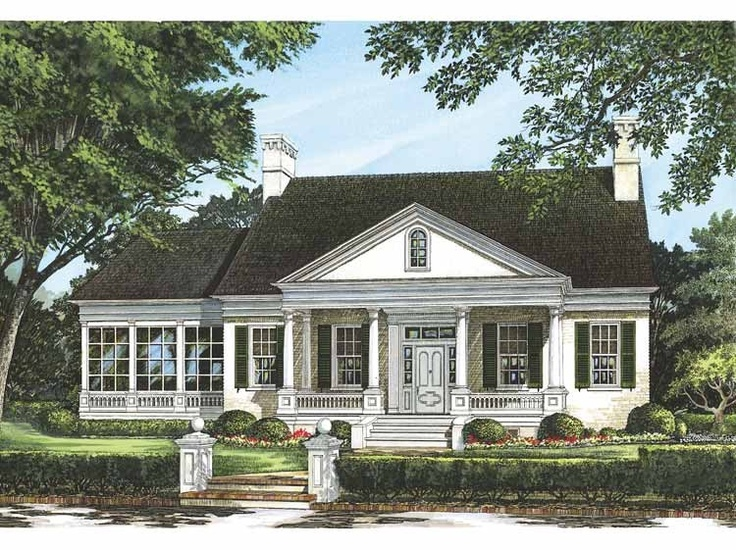 172 Best House Plans Images On Pinterest Architecture