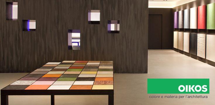 Colore e materia per l'architettura: Oikos