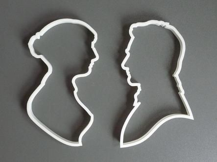 Pride & Prejudice Cookie Cutters- How cute! Although I'm pretty certain I could only eat these with a properly brewed cup of tea!