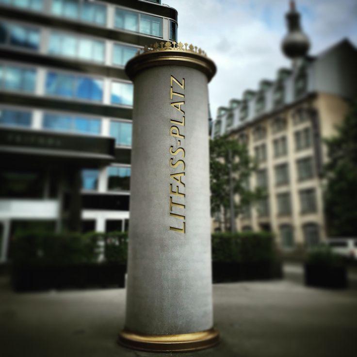 Litfass-Platz  #myknips #berlin #mitte #alexanderplatz #fernsehturm