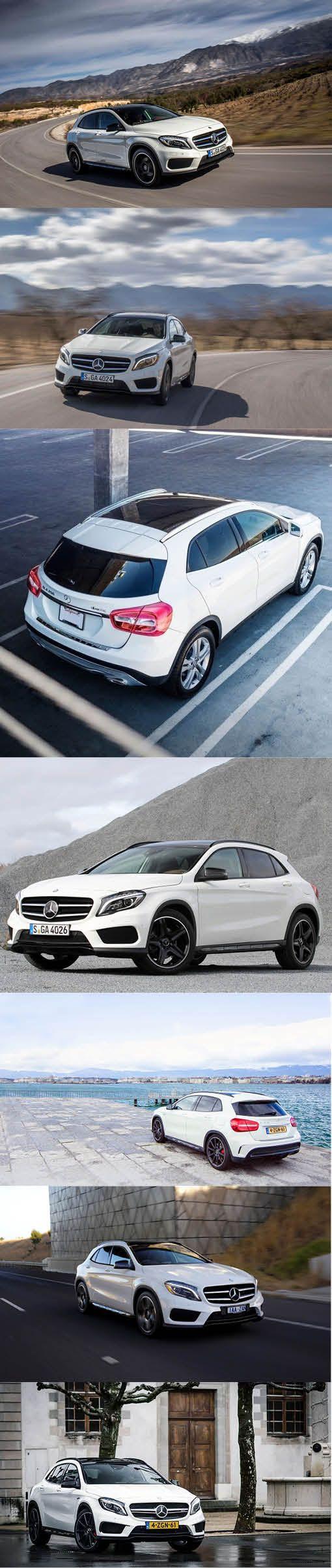 2013 Mercedes-Benz GLA / Germany / white