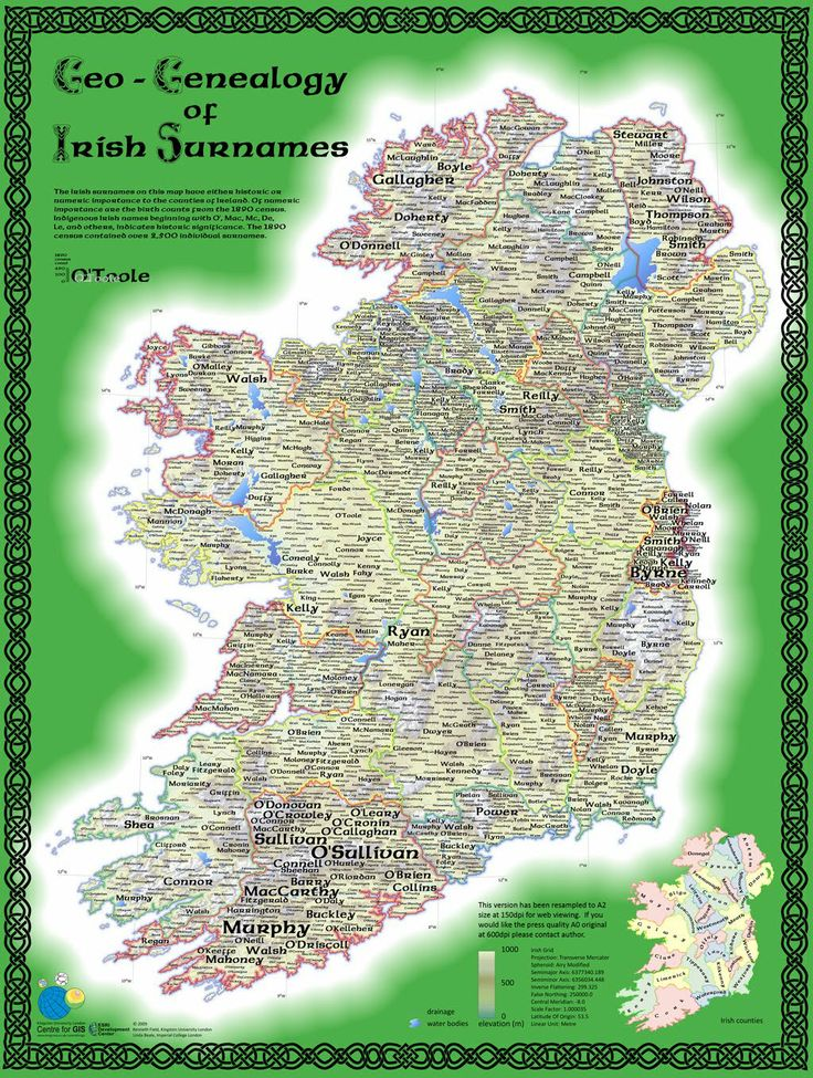 Best MAPS Show You Options Images On Pinterest - Common surname map us