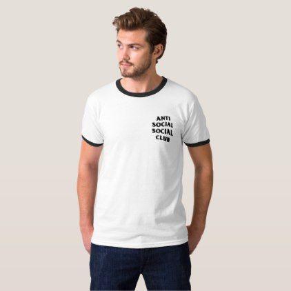 Anti Social Social Club  Aesthetic Vaporwave Shirt - boy gifts gift ideas diy unique