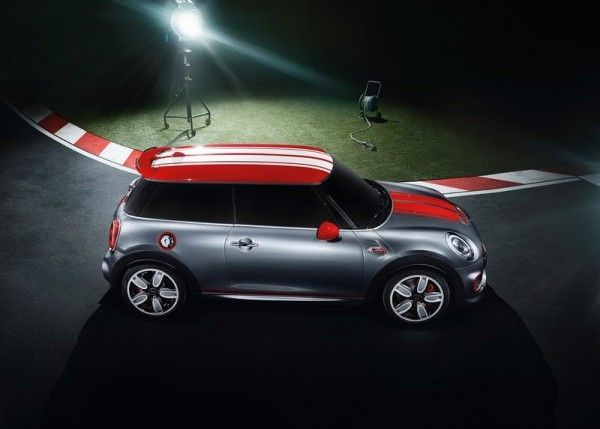 2014 Mini John Cooper Works Images 600x429 2014 Mini John Cooper Works Concept and Images