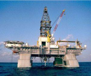 Deepwater Horizon prior to explosion
