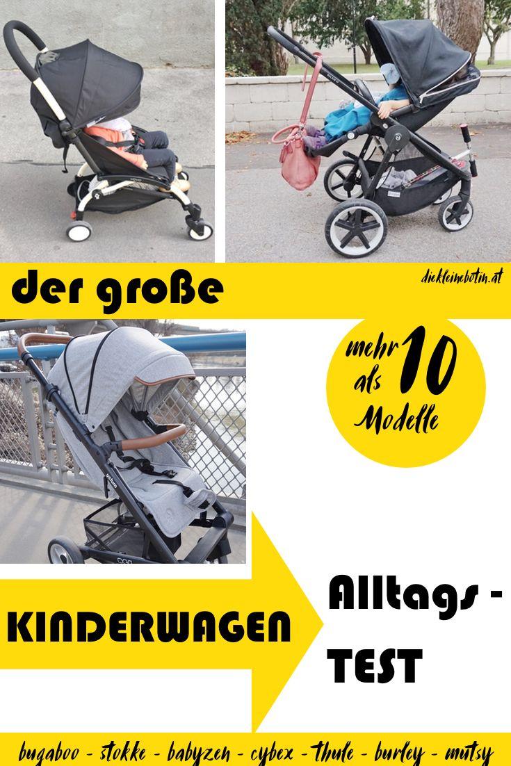 DER ultimative Alltagstest von mehr als 10 Kinderwagen und Buggy-Modellen! Top-Marken, Kombikinderwagen, Buggy, Fahrradanhänger, Offroad-Kinderwagen, Citykinderwagen.