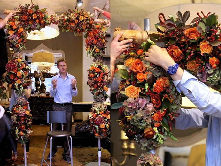 ok its now my dream to take this professional floristry course in london!   Divine Floréal: MFH Part 10a: Professional Floristry Course at Jamie Aston