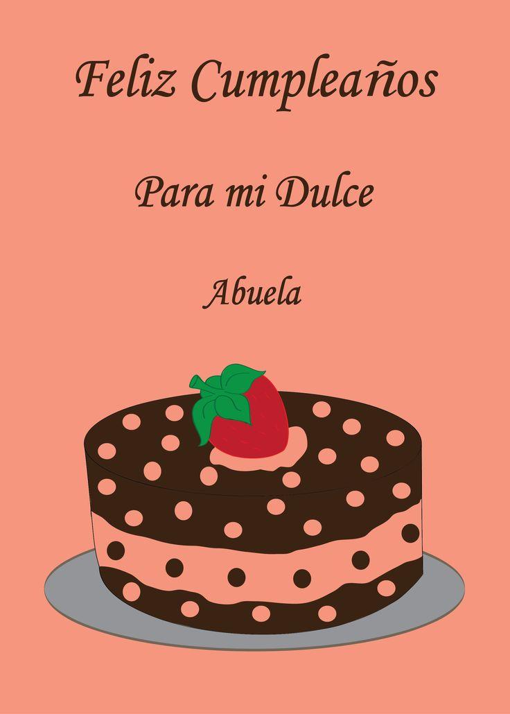 Feliz Cumpleaos Abuela Spanish Afro Latin Cards Birthday Wishes For Grandma Birthday