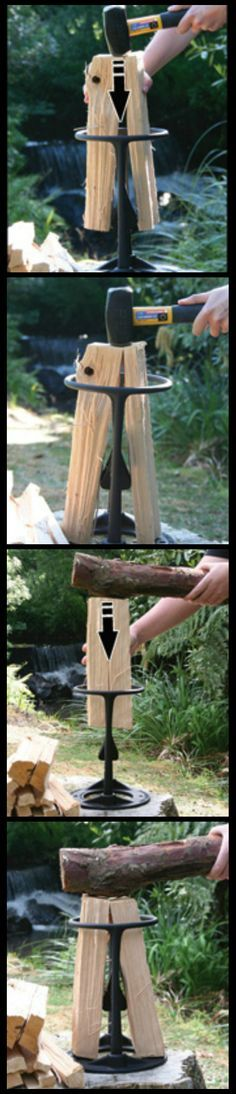 If you need to create kindling for your campfire, wood stove, fireplace or pizza oven and you don't want to risk injury by using an axe, the Kindling Cracker is just what you need. Built in New Zealand with an award-winning, patented design, it's the safer, faster and easier way to make the best kindling for your fire. camping hacks, #camping #lifehack