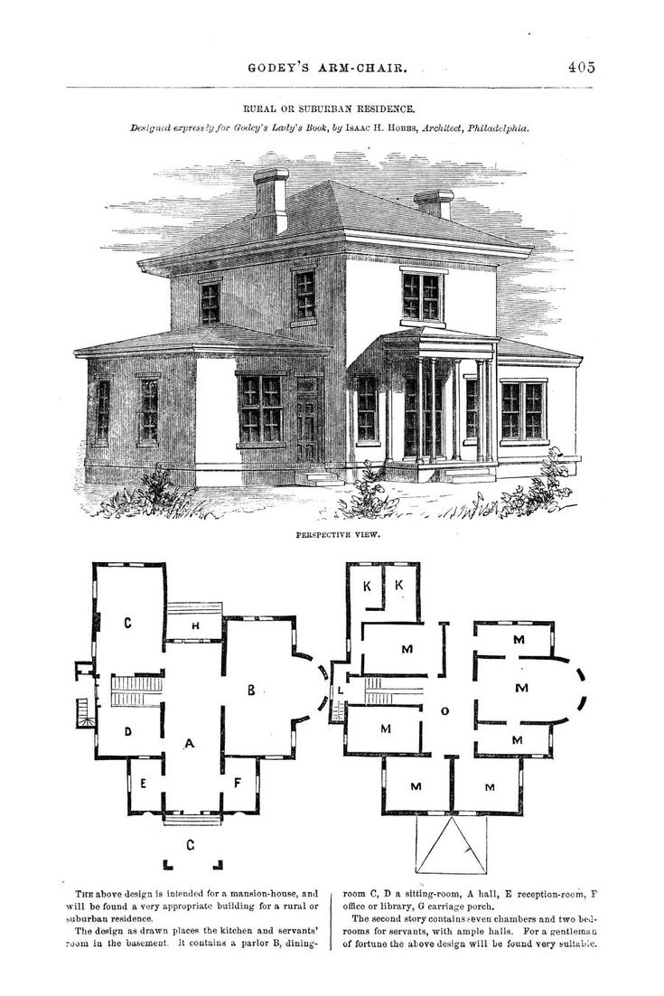 Godeys ladys book april 1864 story planning suburban