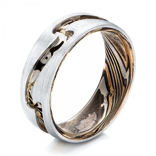 17 Best Images About Mokume Gane Rings On Pinterest