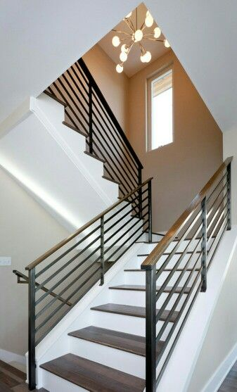 Best 25 Modern Staircase Ideas On Pinterest: 17 Best Images About Raised Ranch Facelift On Pinterest