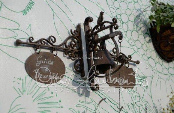 Tendenze nozze 2015. Matrimonio eco-chic. Un tableau de mariage che profuma di erbe aromatiche. | Cira Lombardo Wedding Planner