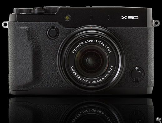 Fujifilm X30 First Impressions Review: Digital Photography Review