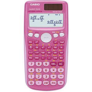 Casio FX 85GT Scientific Calculator in Pink
