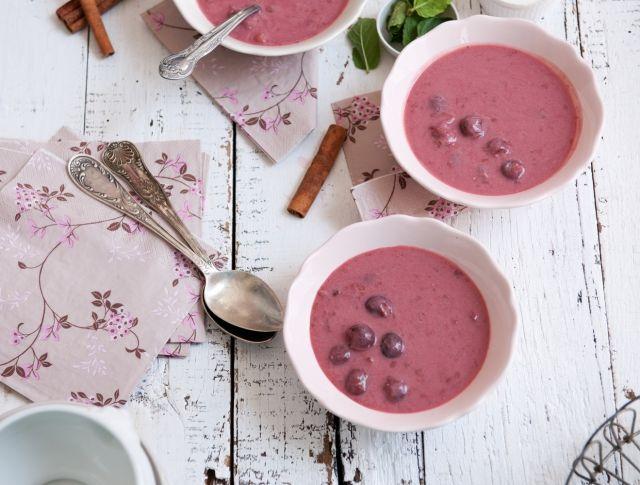 Hideg cseresznyeleves Recept képpel - Mindmegette.hu - Receptek