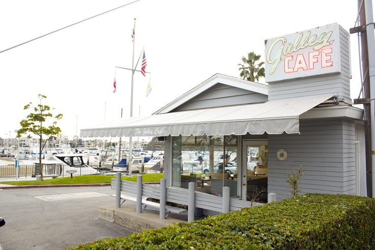 The Happy Hour: galley cafe: newport beach | restaurants ...