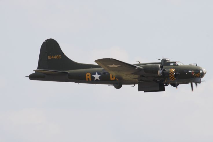 Sally B, B-17 at Duxford air show 2013
