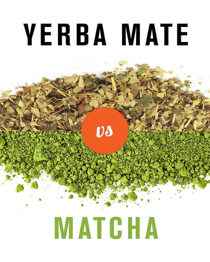 Matcha vs. Yerba mate