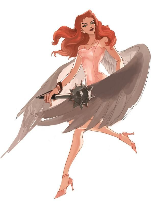 Hawkgirl by DDADONG on DeviantArt