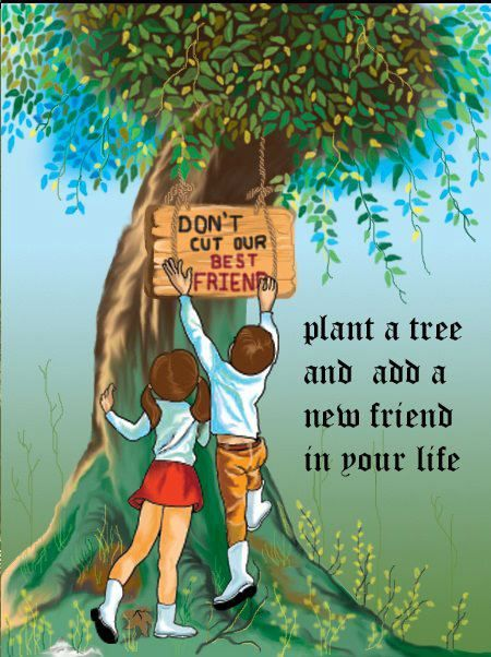 Trees Are Our Best Friends Essay & Speech in English