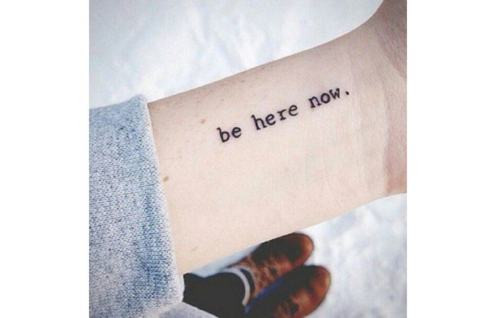 33 Awesome Minimalist Tattoos Every Yogi Will Want Inked                                                                                                                                                                                 More