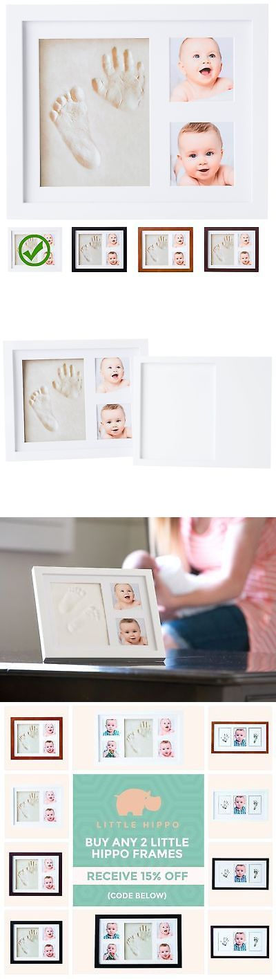 Handprint Kits 162037: Baby Handprint Kit By Little Hippo! Special No Mold Version! Baby Picture Frame -> BUY IT NOW ONLY: $31.58 on eBay!
