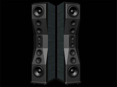 sgr audio | SGR Audio Illuminator floor speakers.