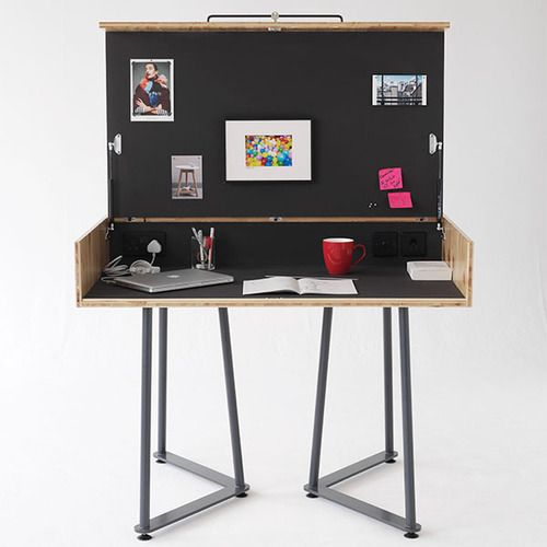 62 best images about portable desk on pinterest discover best ideas about secretary camping - Folding desks for small spaces concept ...