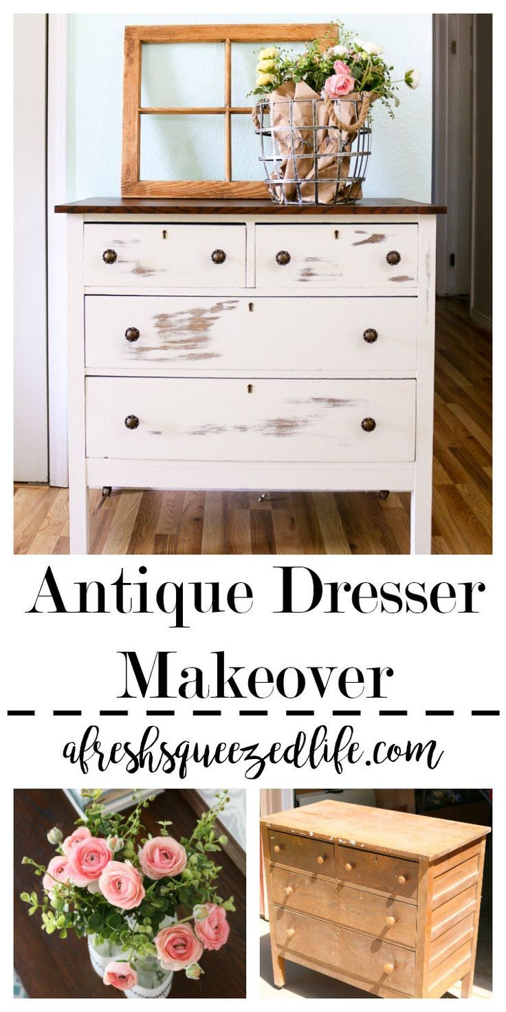 A Dresser Diy Is Perfect First Time Project Give It Makeover And Repurpose With Your Painting Skills Creative Ideas Antique