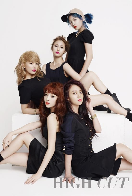 [PHOTOSHOOT] HIGH CUT of Kara