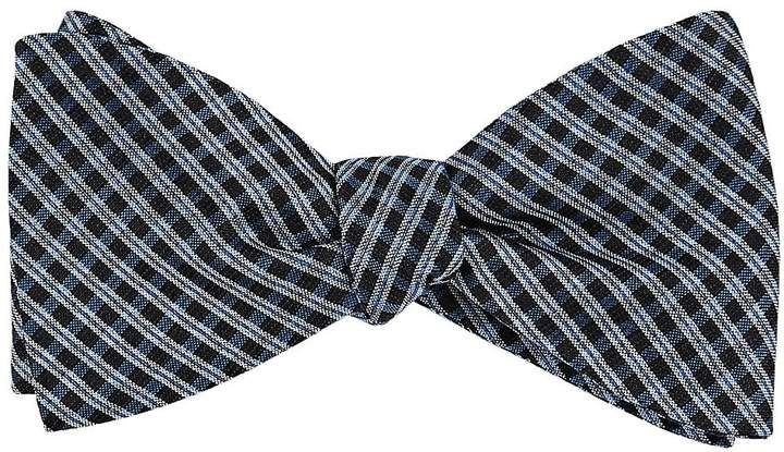 4537cd62 Barneys New York MEN'S PLAID SILK-BLEND BOW TIE - BLUE | Products ...