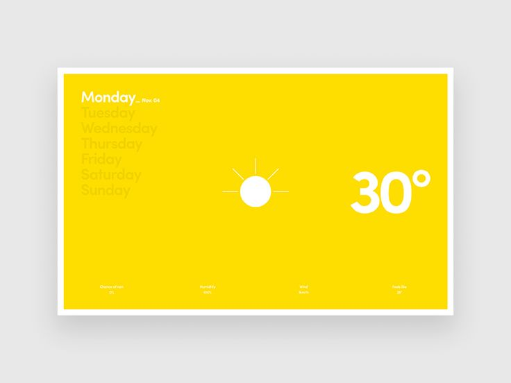 Hello guys,  I went through some of my free time to just give it a go about my idea for weather app which is going to have only informations as probably everyone would like to see in a pleasure for...