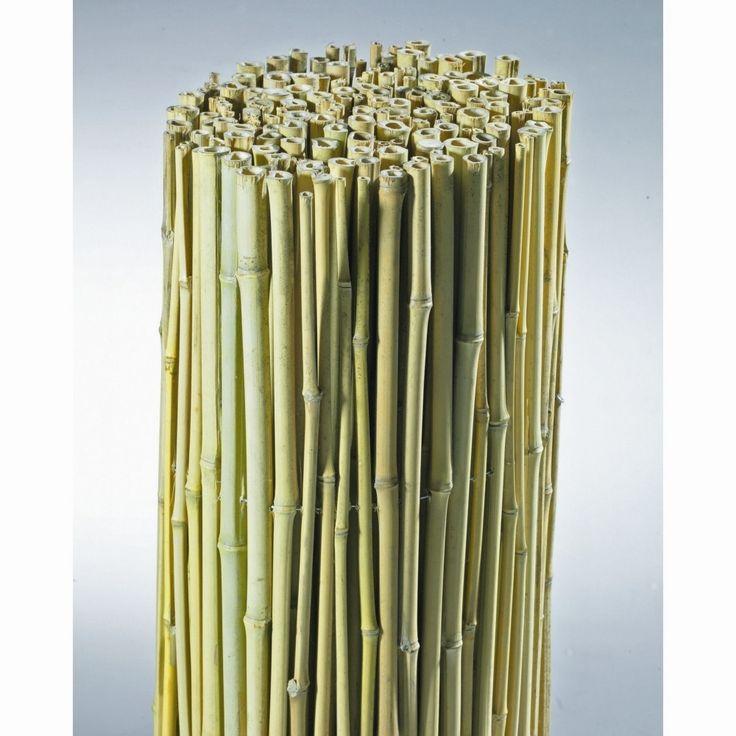 Canisse bambou naturel 1 x 3 m - Canisses bois et plastiques - Bricorama