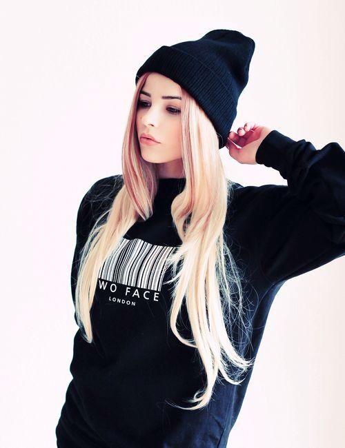 Black and Blondie