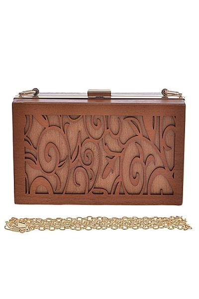 Etched Wood Clutch · Nique's Online Boutique · Online Store Powered by Storenvy