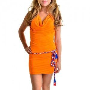 Oranje WK jurkje van SAPP, leuke oranje kleding voor het WK 2014 in Brazilië.